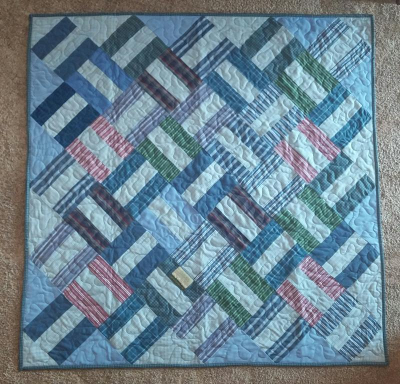 Custom Memory Quilts - Memory Quilts from Clothing : memorial quilt ideas - Adamdwight.com