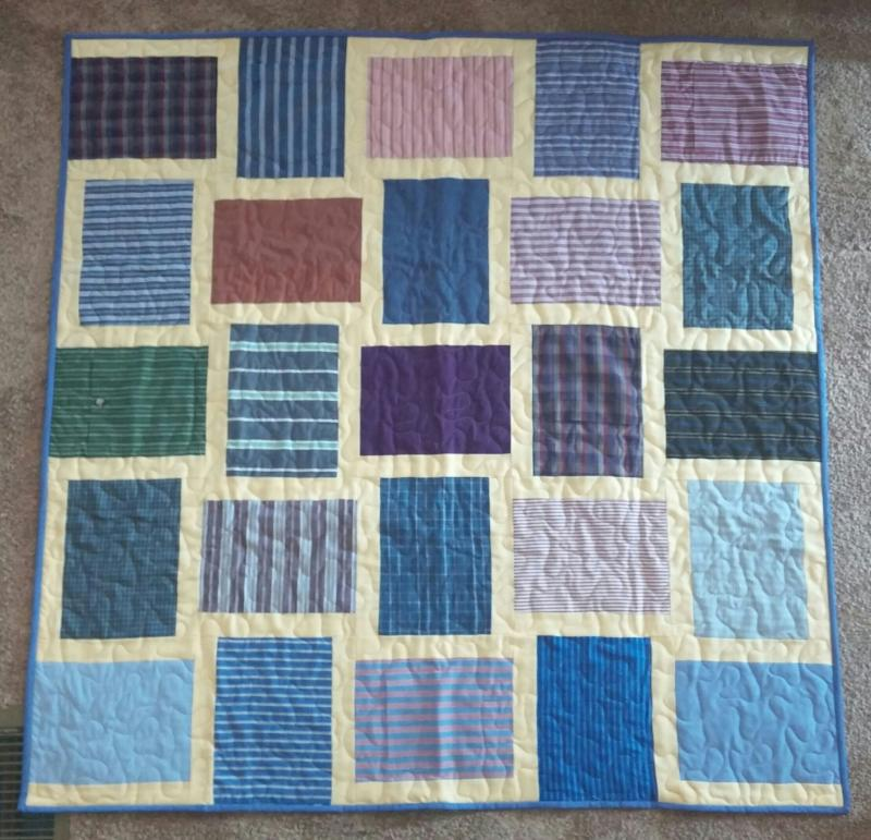 Custom Memory Quilts - Memory Quilts from Clothing : memory blankets quilts - Adamdwight.com