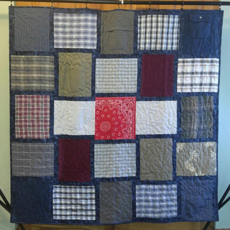 Custom Memory Quilts Memory Quilts From Clothing