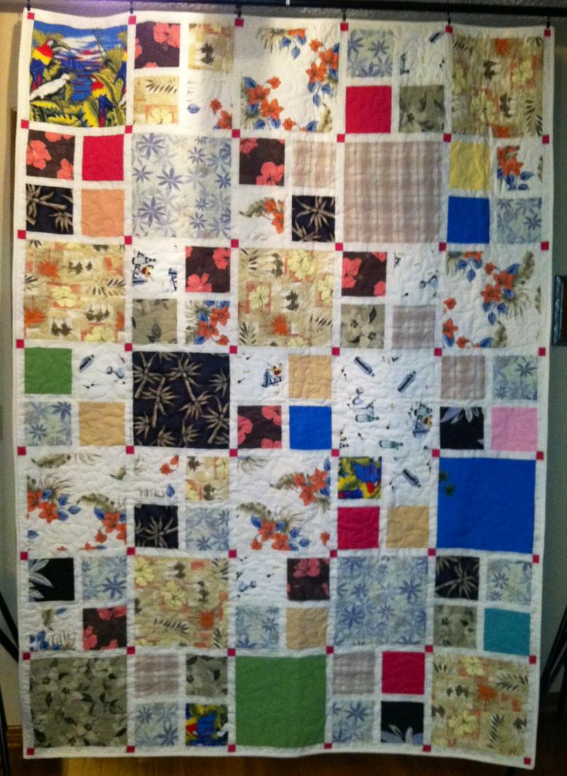 Custom Memory Quilts - Memory Quilts from Clothing : memorial quilt patterns - Adamdwight.com
